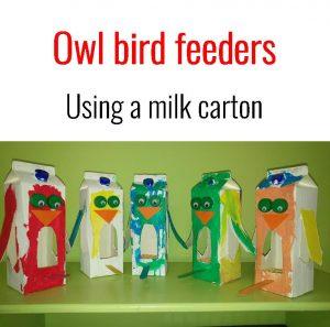 owl bird feeder