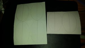 outlines of wings for bugs