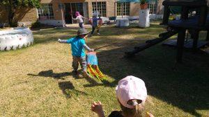 flying bag kite