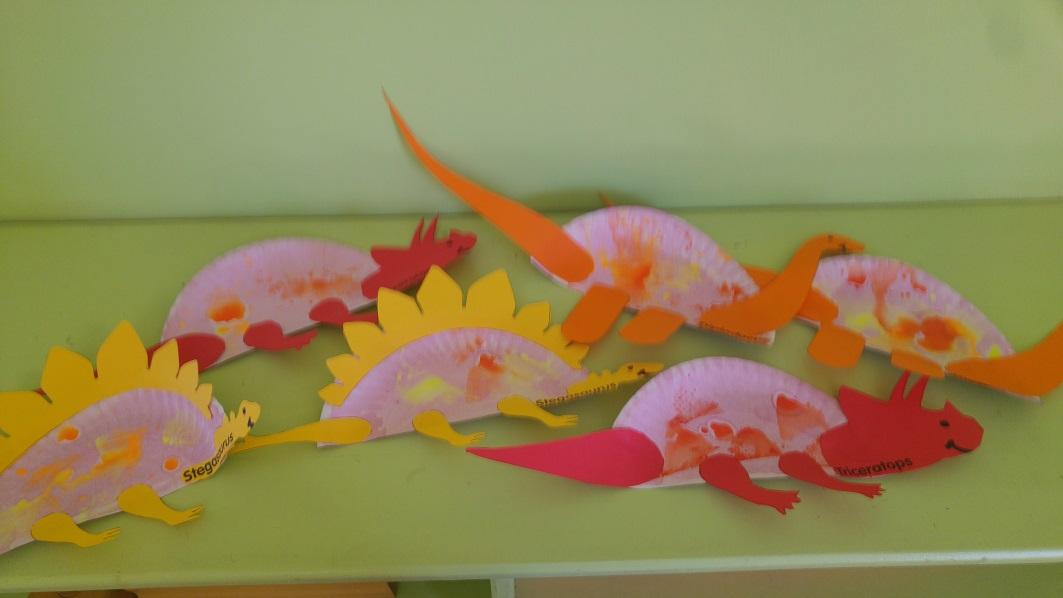 Dinosaur Themed Art Activities Kids Fun Art Crafts Outdoor